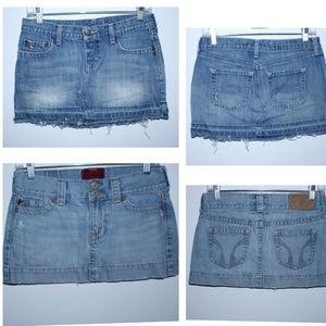 Abercrombie Hollister Denim Jean Mini Skirts